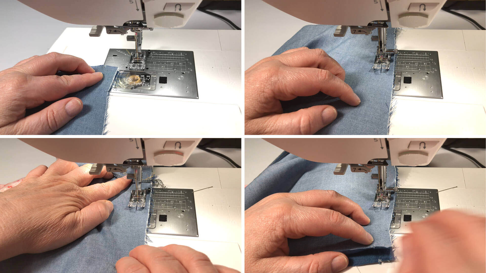 smartPATTERN Anleitung #BE01 zum Mass Hose selber nähen-DIY- Zusammennähen der inneren Beinnaht